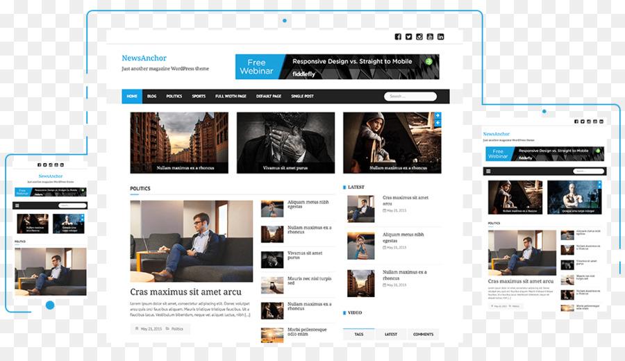 WordPress presentadora de Noticias en el Blog de Tema - WordPress ...