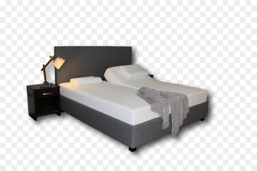 Bed frame Mattress Box-spring Adjustable bed - Mattress Formatos De ...