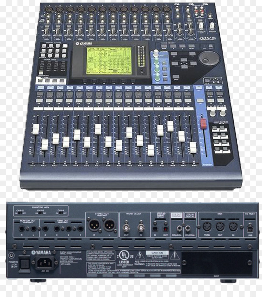 Audio Mixers Digital Mixing Console Yamaha 01v Corporation Mgp12x Desk