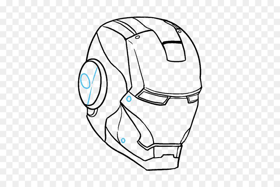 El Hombre De Hierro YouTube Dibujo De Croquis - Iron Man cara png ...