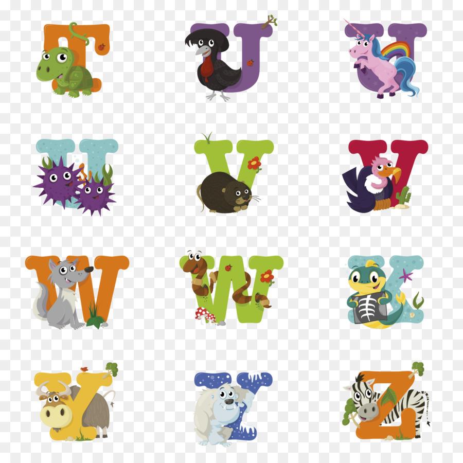 Alphabet Song Letter Art Alphabet Animals Png Download 1400 1400