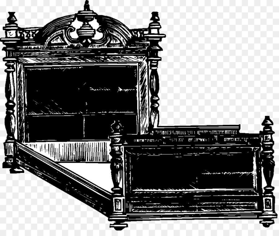 Antique furniture Bed frame Mattress - bed Formatos De Archivo De ...
