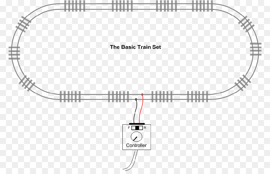 Wiring diagram Rail transport Train Circuit diagram - Start