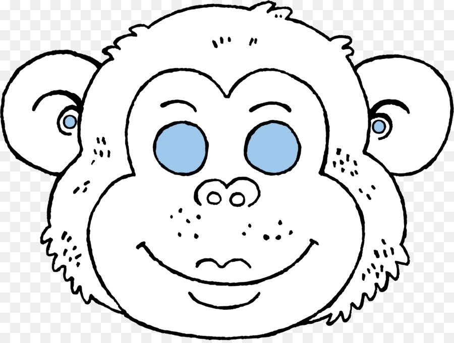 Maske Boyama çizim Ausmalbild Snout Halka Kuyruklu Lemur Png Indir