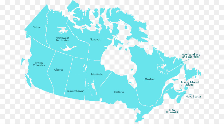 Canada United States Vector Map Rivers And Lakes Png Download