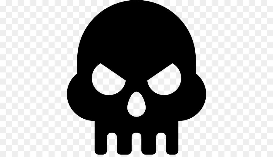 Skull & Bones Silhouette Skull and crossbones - Silhouette png ...