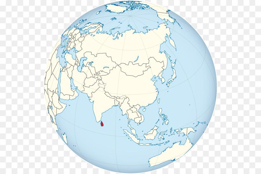 Sri Lanka Globe World map - the milk fish png download - 600*600 ...