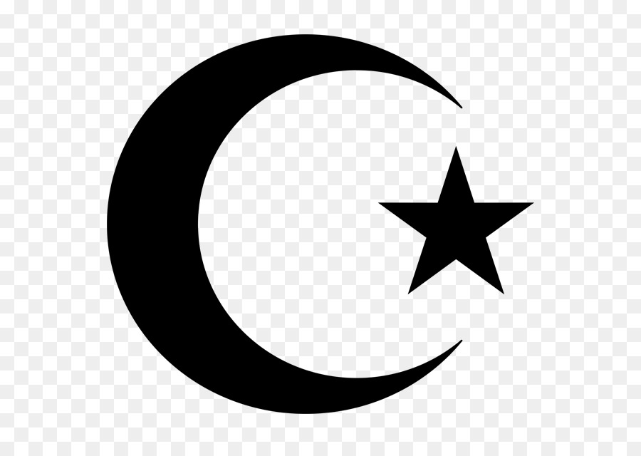 Star And Crescent Symbols Of Islam Moon Islam Png 630