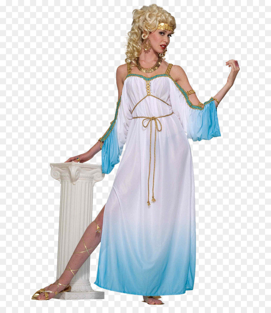 hera costume greek mythology goddess clothing - goddess png download