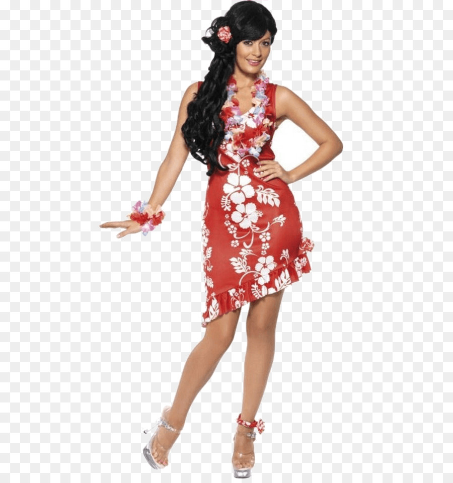 Hawaii Costume party Dress - party png download - 600*951 - Free ...