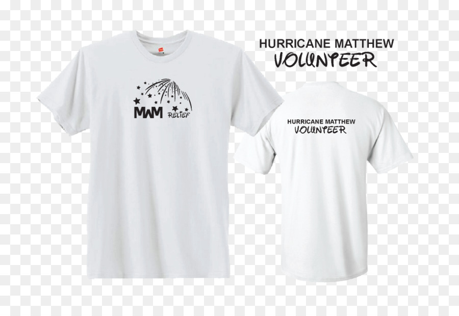 d56feb032976 T-shirt Logo Sleeve Collar - Hurricane Relief png download - 1013 ...