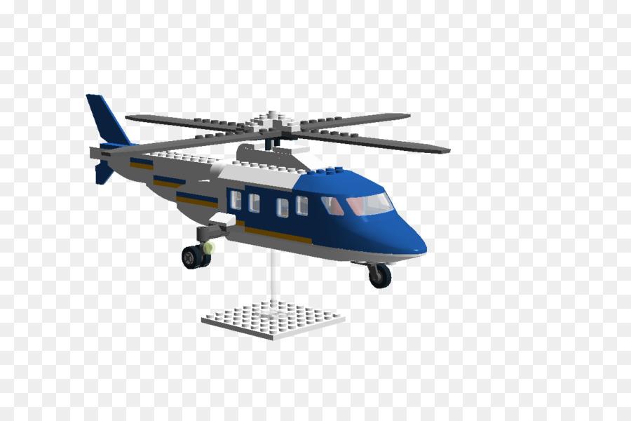 Rotor del helicóptero Lego Jurassic World AgustaWestland AW109 InGen ...