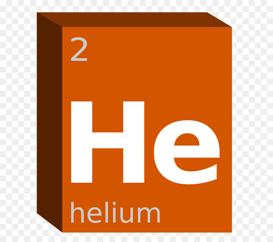 Periodic Table Chemistry Chemical Element Helium Block Symbol Png