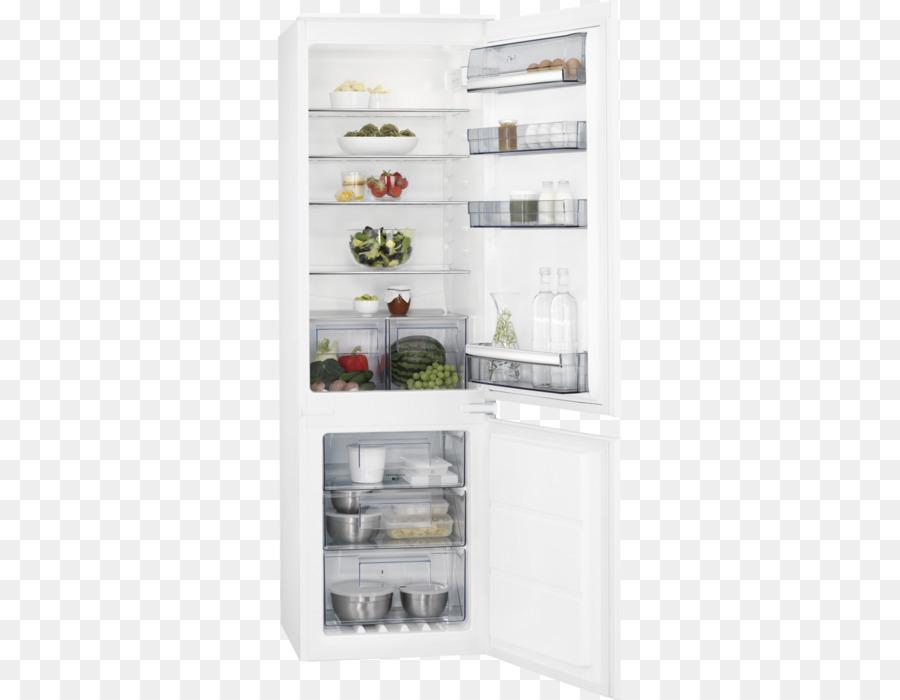 Aeg Kühlschrank Mit Gefrierschrank : Automatische abtauung aeg scb ns kühlschrank gefrierschrank