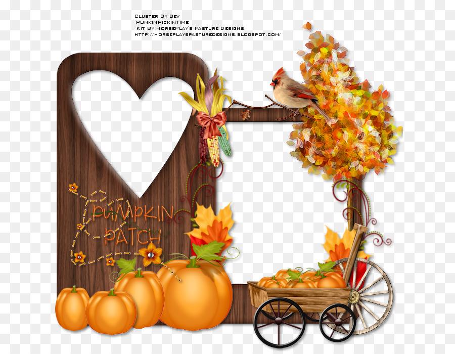 Thanksgiving Pumpkin Picture Frames Fruit Font Thanksgiving Png