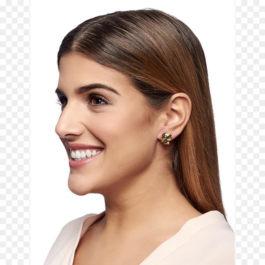 Earring Long Hair Lookbook Hair Png Download 900900 Free