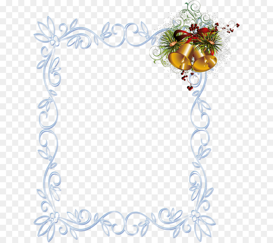 Picture Frames Christmas New Year Rendering - christmas png download ...