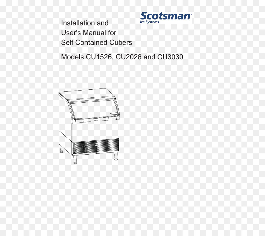 The Scotsman Ice Makers Product Manuals Diagram