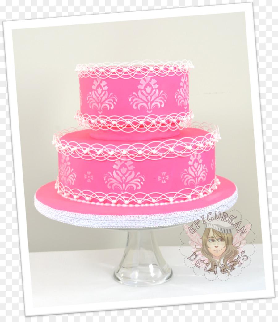 Hochzeitstorte Geburtstagstorte Torte Mit Buttercreme Kuchen