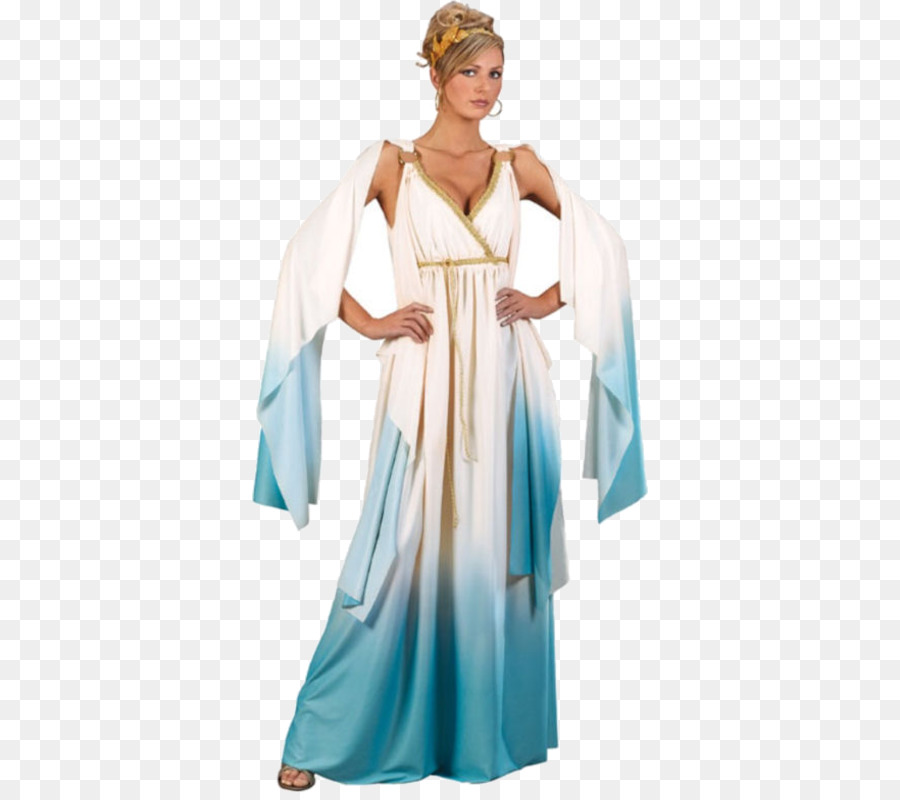 Halloween costume Toga Goddess - Halloween png download - 500*793 ...