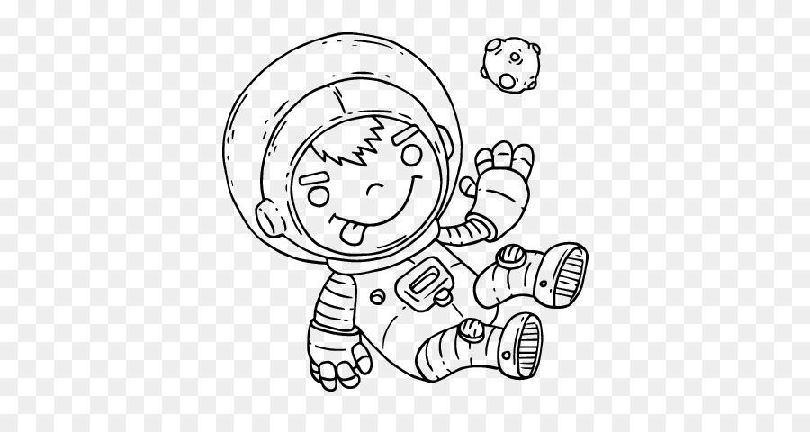 Gambar Astronot Buku Mewarnai Lukisan Luar Angkasa Astronot