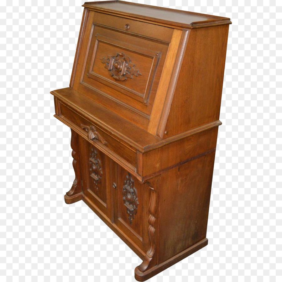 Drawer Bedside Tables Secretary Desk Slant Top Antique