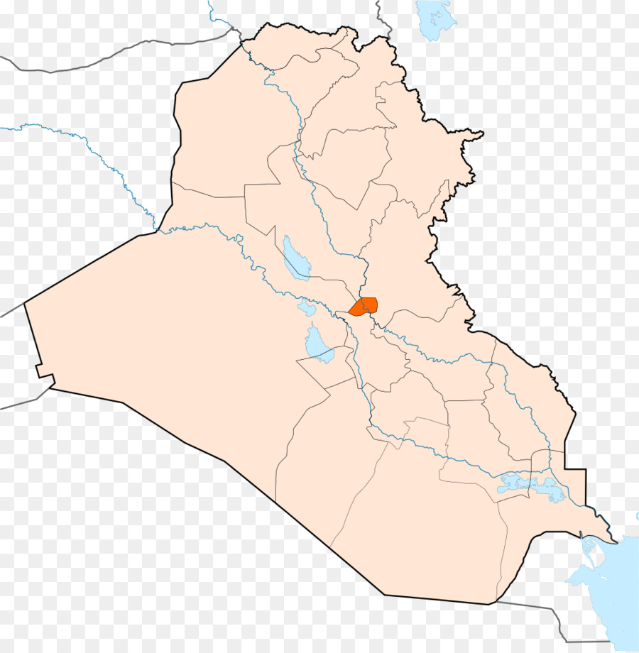 Baghdad Map Nineveh Governorate Halabja Tikrit - map iraq png ...