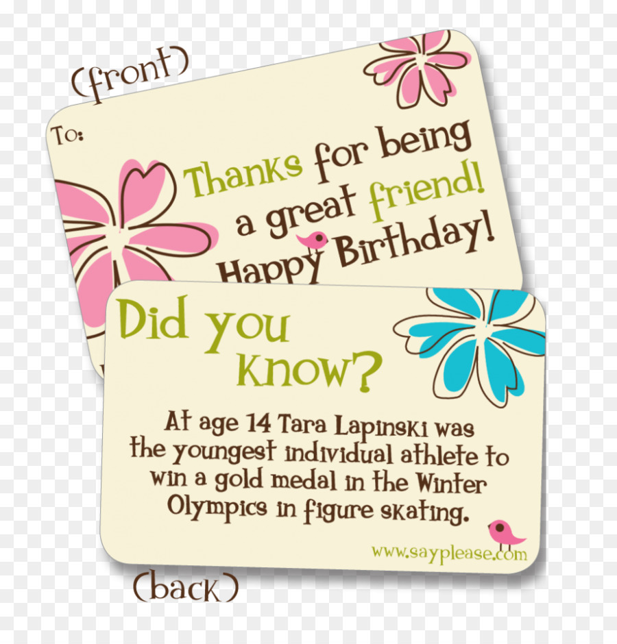 Birthday Quotation Wish Adolescence Greeting Note Cards