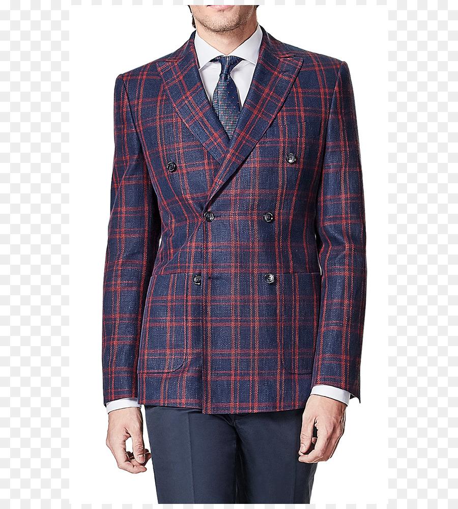 Terno Ralph Lauren Corporation azul Marinho de abotoamento Duplo Glen  xadrez - atender ceb19c4a1b7