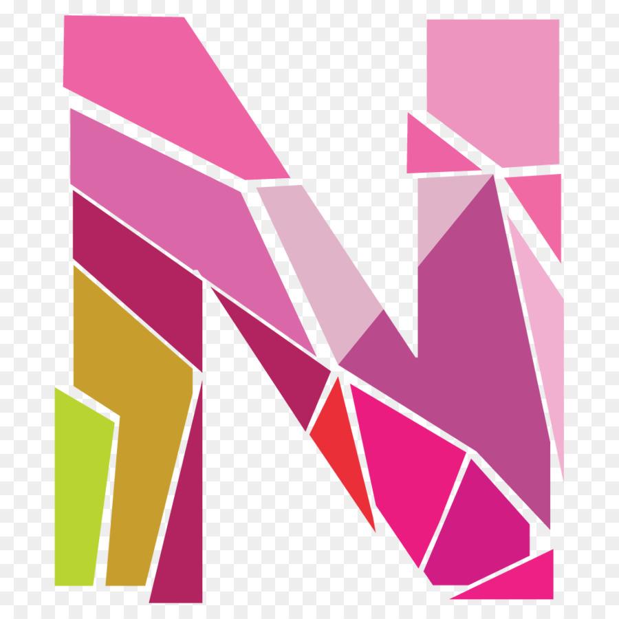 N Letter Ñ Font - N png download - 1000*1000 - Free Transparent Pink ...