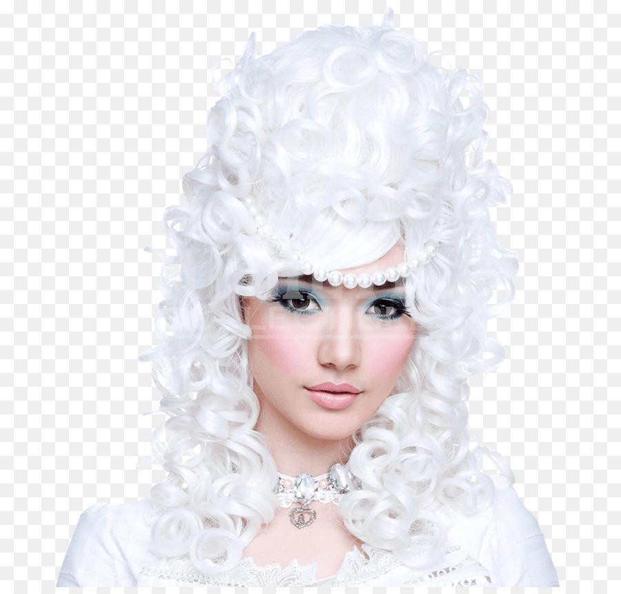 Marie Antoinette Perucke Frisur Pony Haar Png Herunterladen 850