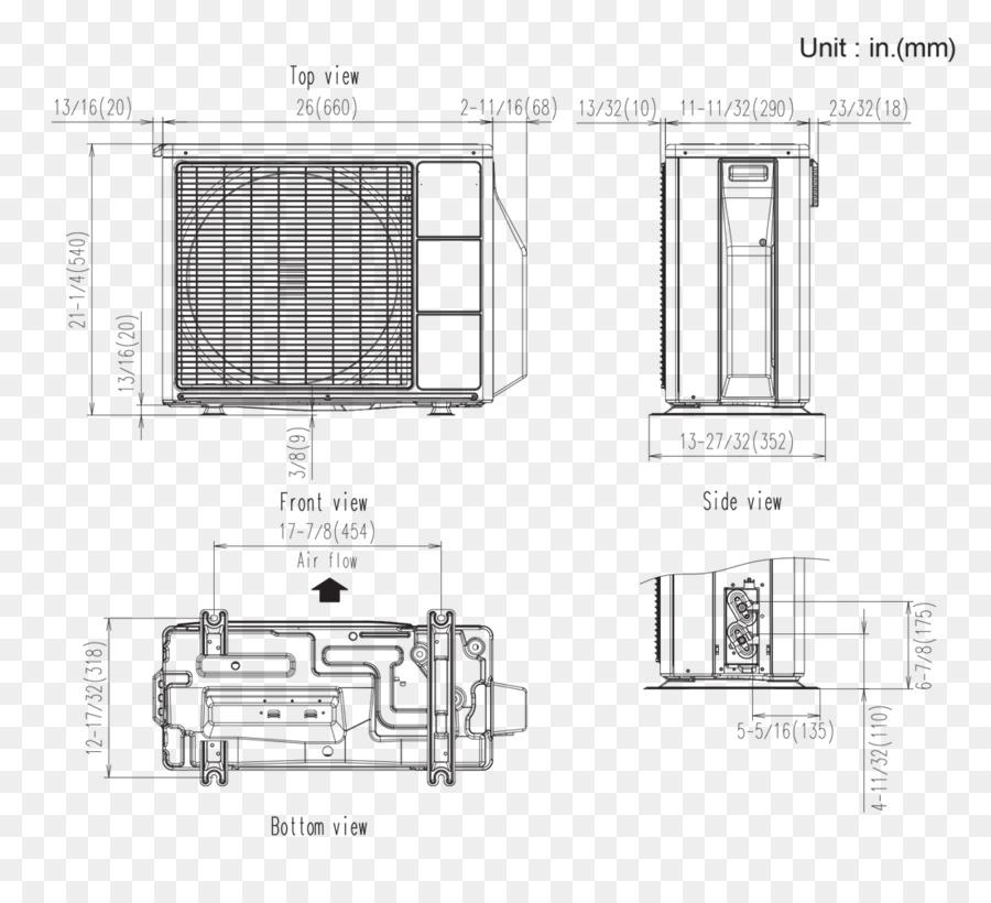 Wiring diagram HVAC denah Ruang Ber-ac - lain lain