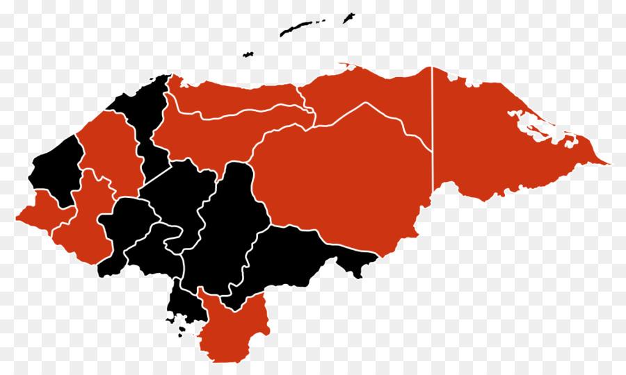 Honduras World map Border - map png download - 1024*614 - Free ...