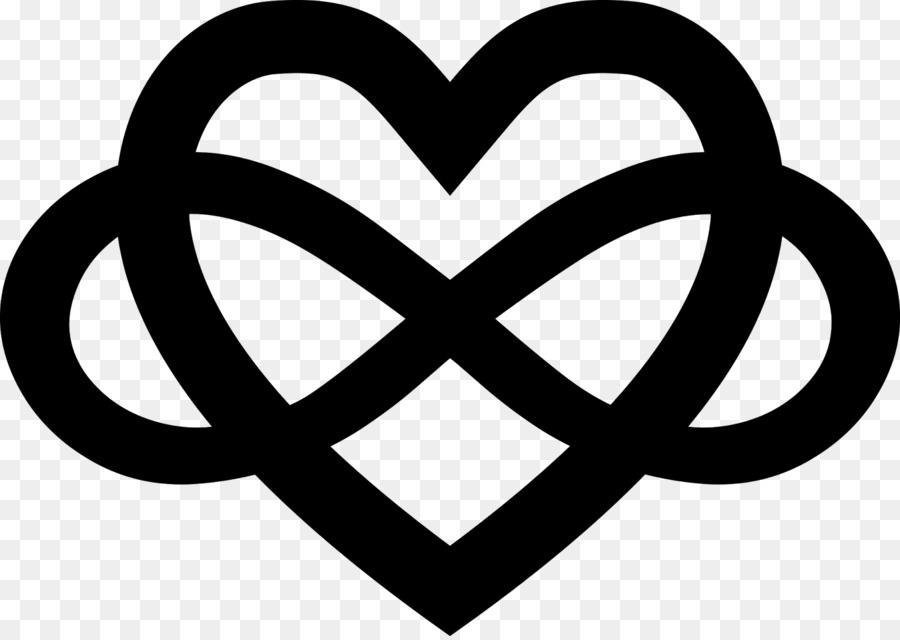Heart Necklace Gold Infinity Symbol Heart Png Download 16001131