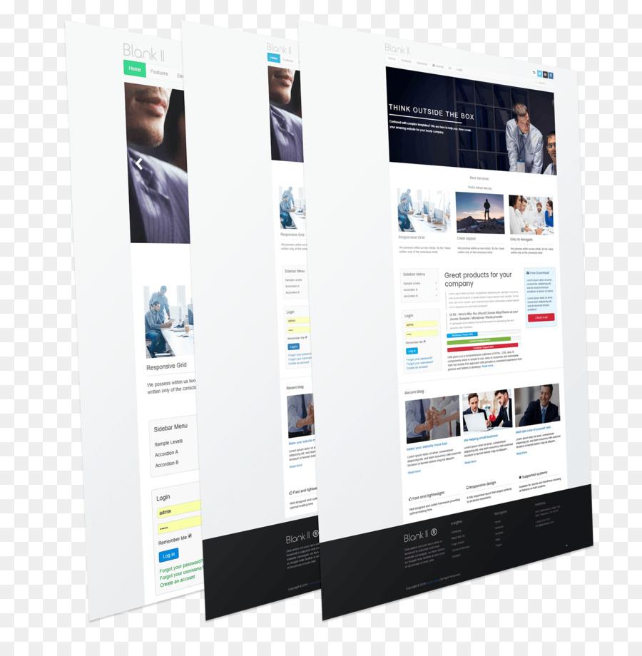 Responsive web design Template Résumé Joomla Curriculum vitae ...
