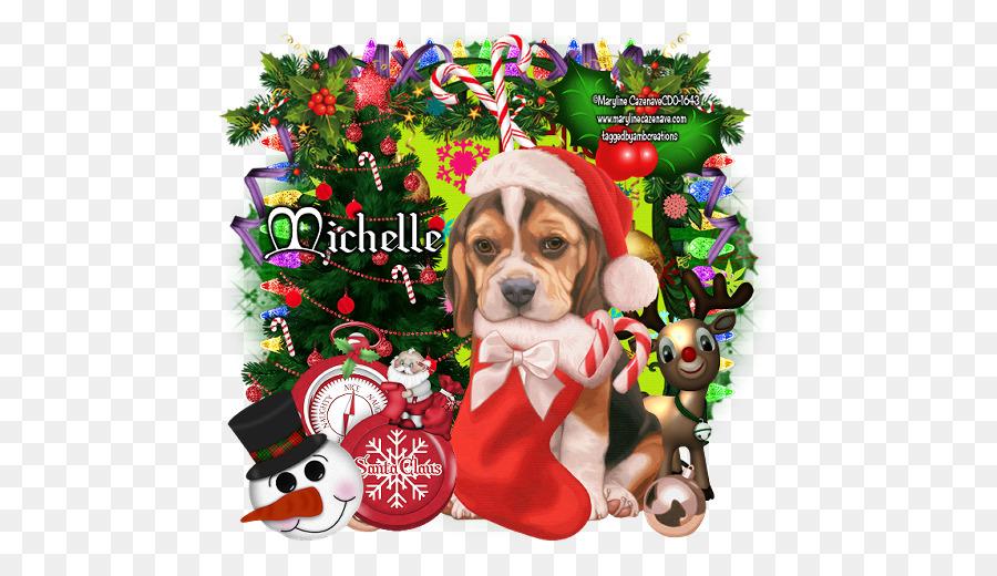 beagle dog breed puppy christmas ornament puppy - Christmas Beagle