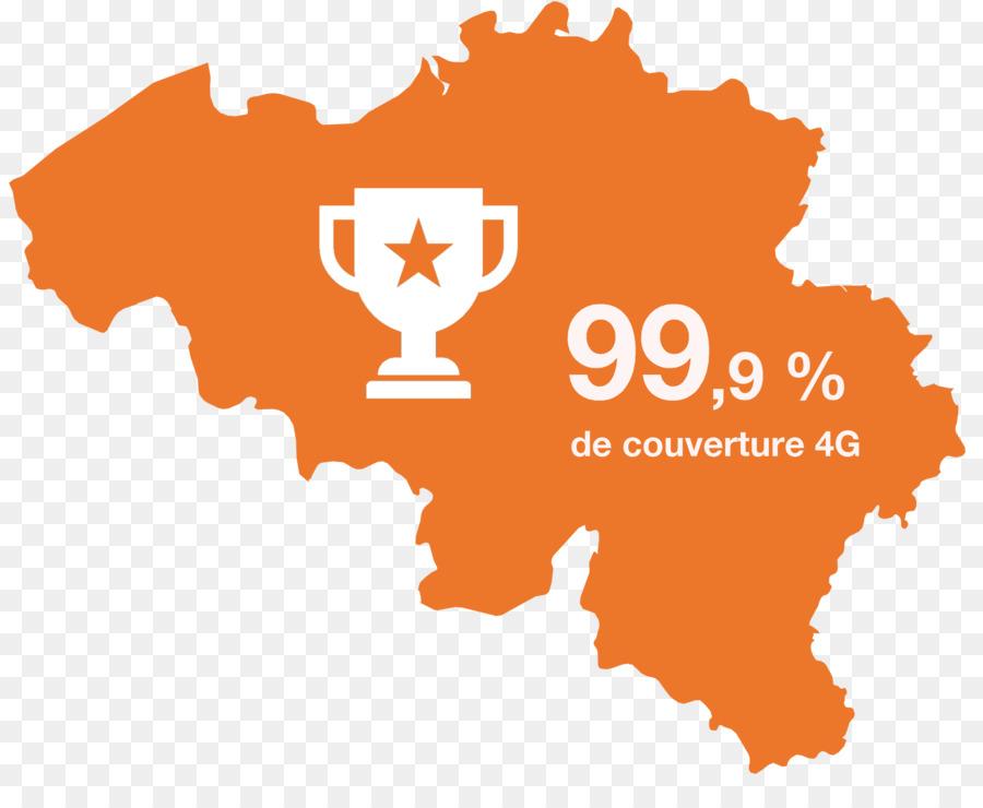 Orange Belgium Internet Map Belgium Map Png Download - Internetmap