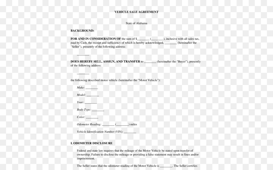 car document template vehicle contract car png download 532 551