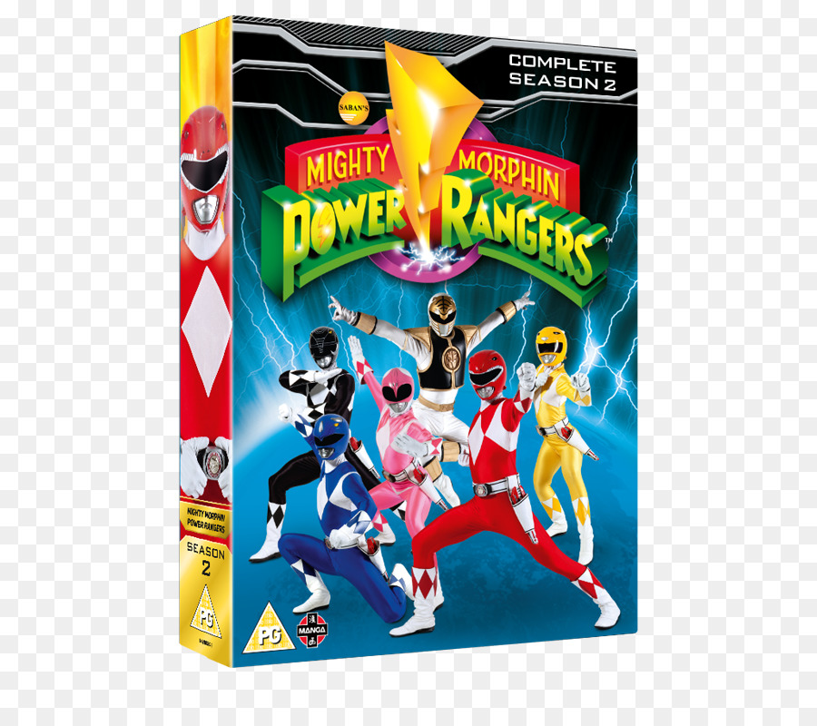 Mighty Morphin Power Rangers Season 1 Toy png download - 530