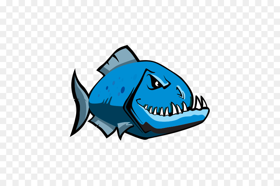 Piraña de peces de agua Dulce Clip art - otros png dibujo ...