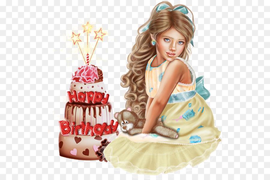Birthday Cake Torte Child Doll Birthday Png Download 600600