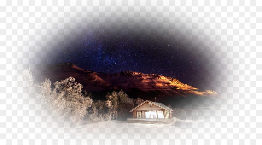 Desktop Wallpaper Musim Dingin Desktop Metafora Langit Malam Musim