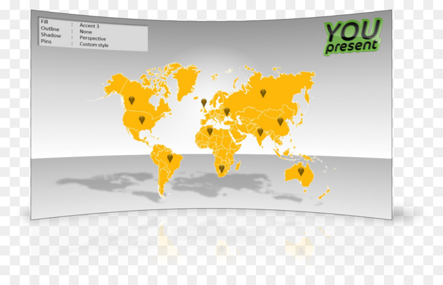 World Map Microsoft Powerpoint Infographic Cv Png Download 1080