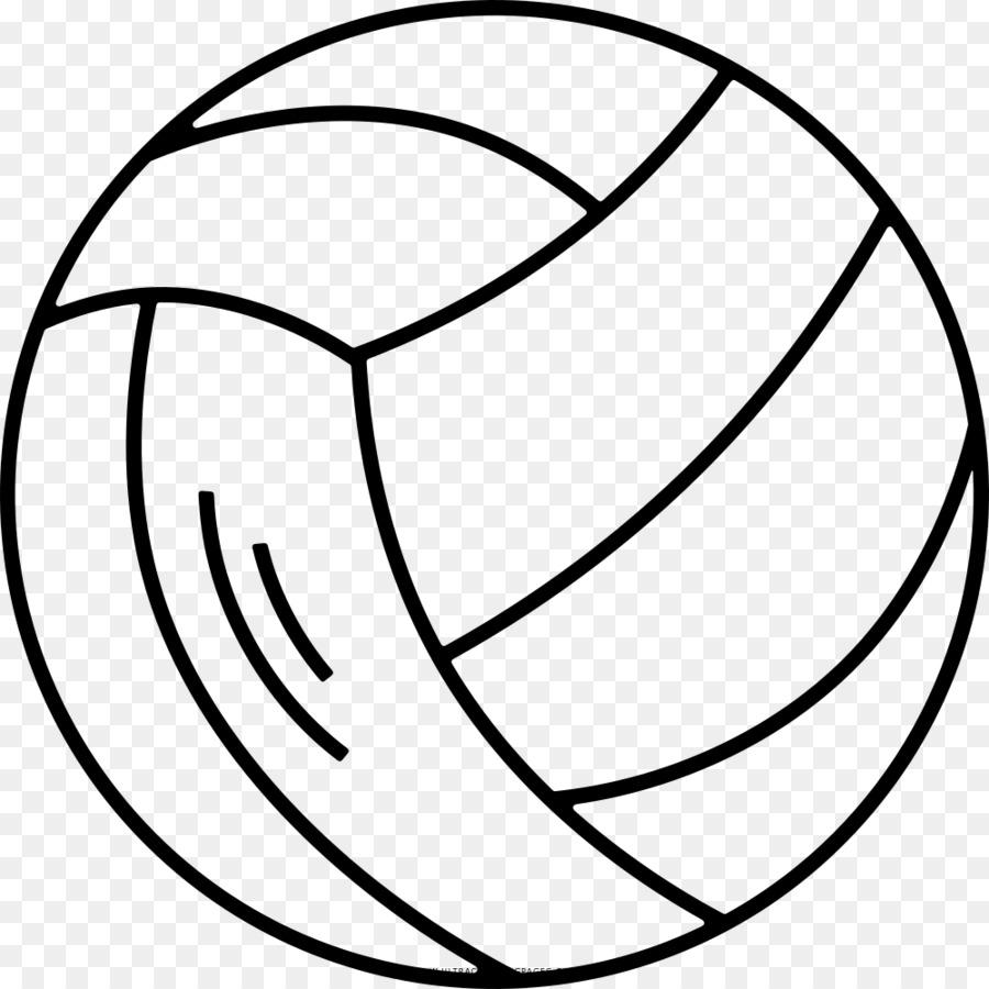 Voleibol de playa Dibujo para Colorear libro - voleibol Formatos De ...