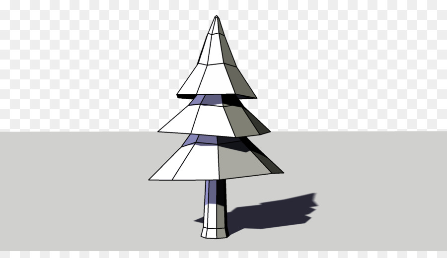 low poly christmas tree triangle polygon mesh tree - Polytree Christmas Tree