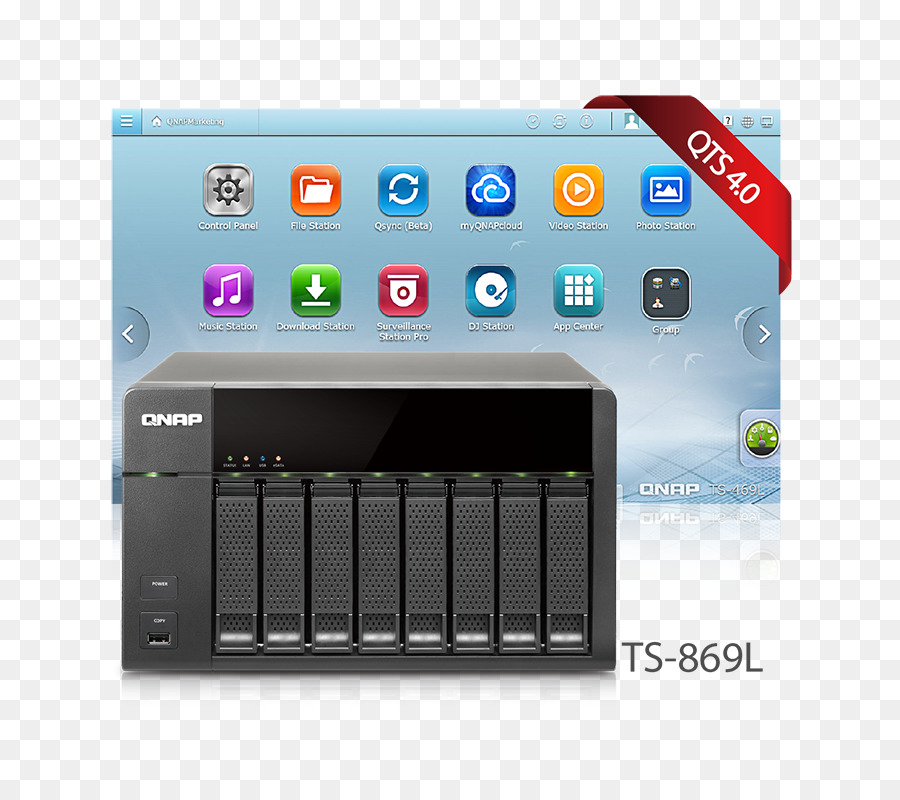 Qnap Systems Inc Technology png download - 800*800 - Free