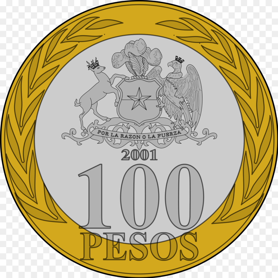 Chilean Peso Currency Coin Coin Png Download 12001200 Free