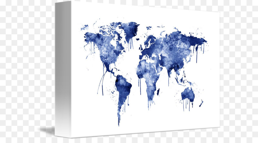 World map watercolor painting art world map formatos de archivo de world map watercolor painting art world map gumiabroncs Images