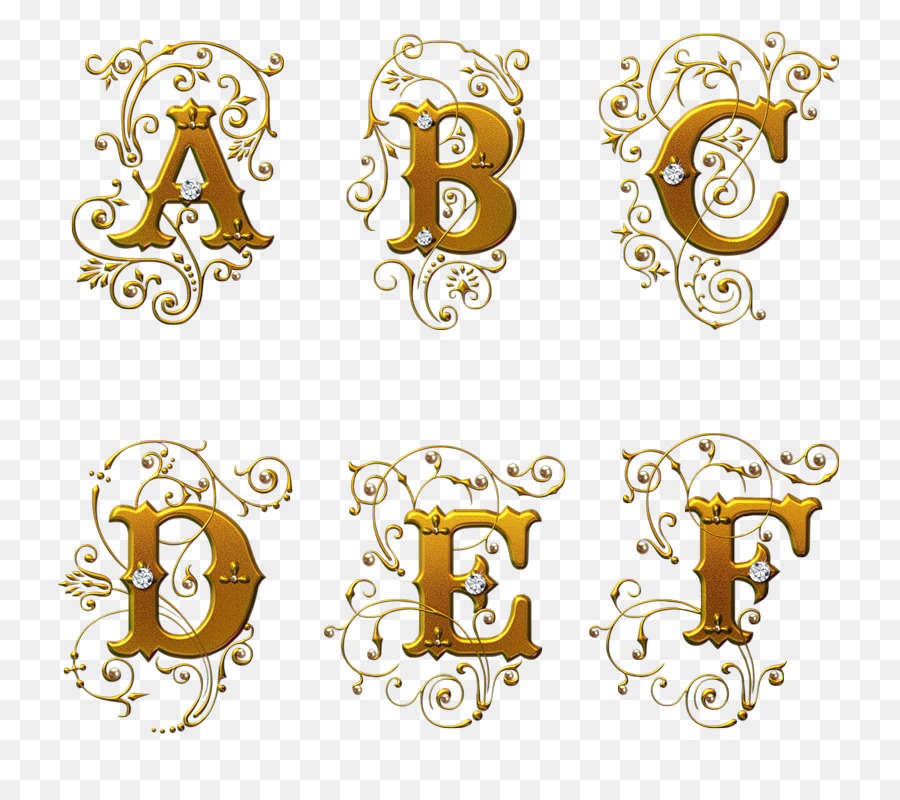 Letter English Alphabet Calligraphy