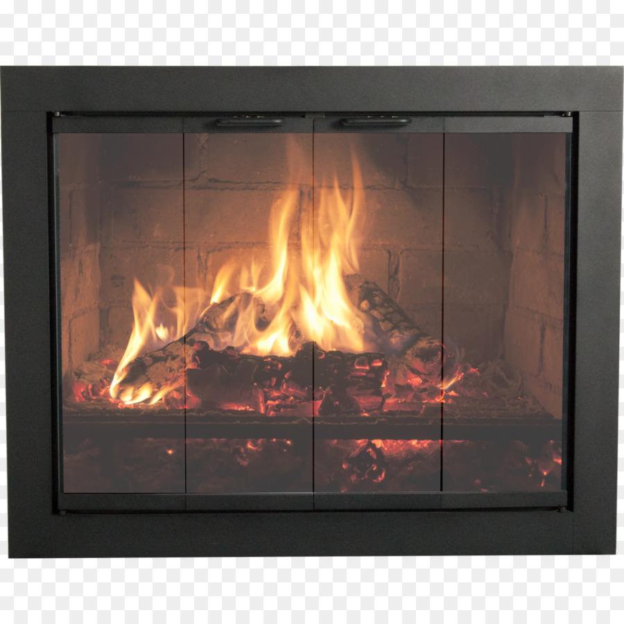Thermo Rite Fireplace Sliding Glass Door Window Door Png Download